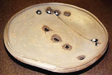 Voulkos platter. Is it a plate or does it just 'look like one'?