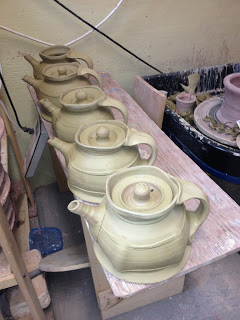 tony clennell teapots