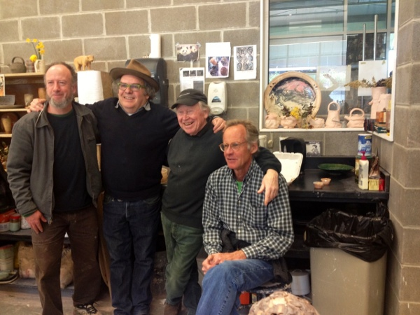 Me (Carter), Tony, Ron Meyers, and Ted Saupe