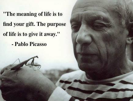 Picasso explains what many artists probably feel about their contributions to the culture of the world.