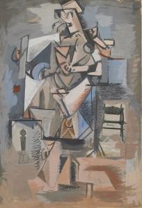 arshile gorky-cubist-figure