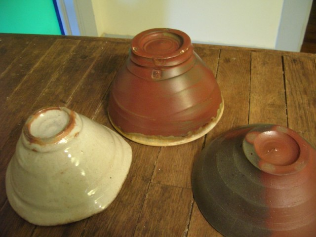 Upside down chunky bowls: Singewald, Gillies, and Levin