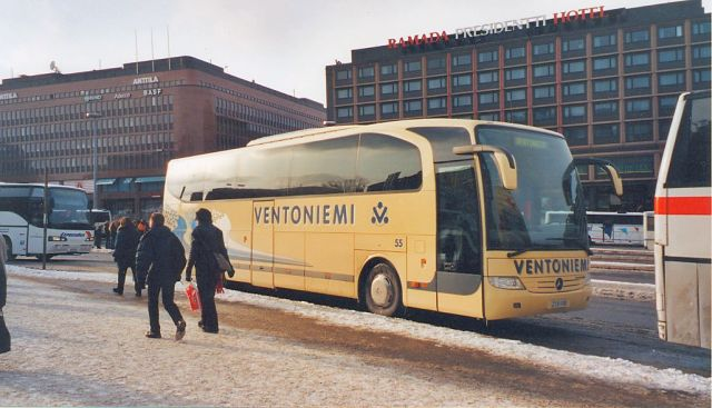 The many buses of Helsinki