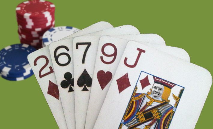 Is this a good hand or a bad hand? How can you tell? Dueces wild? Jacks wild? Go fish? Hearts? Spades? Bridge?........