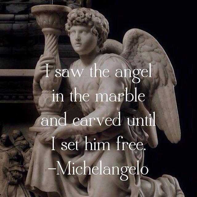 Michelangelos angel