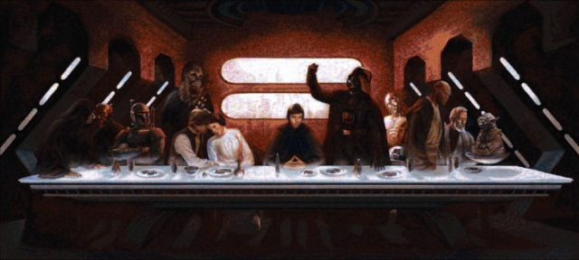 "Joe asks, ""Does it help people understand The Last Supper if it is digitized or parodied?"""